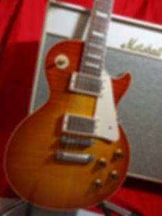 Gibson Les Paul Standard-White Marshall Bluesbreaker