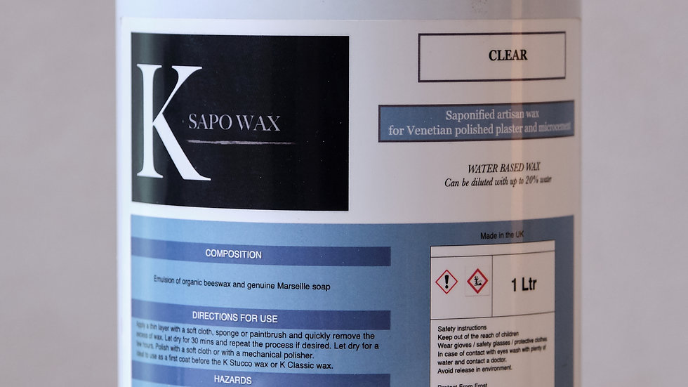 K sapo wax 1 Ltr