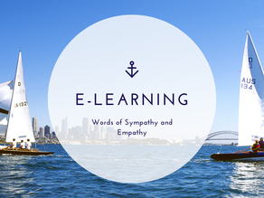 E-Learning: Words of Sympathy and Empathy