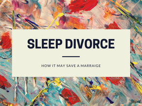 How A Sleep Divorce May Save A Marriage