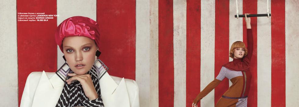 Numero Russia 055 WOMEN EMPOWERMENT  Photo:  FILIPPO DEL VITA   Stylist: JENESEE UTLEY  Hair: AKIHISA YAMAGUCHI  Make up artist: WILLIAM MURPHY  Model: JESSICA WHITLOW AT NEW YORK MODEL MANAGEMENT