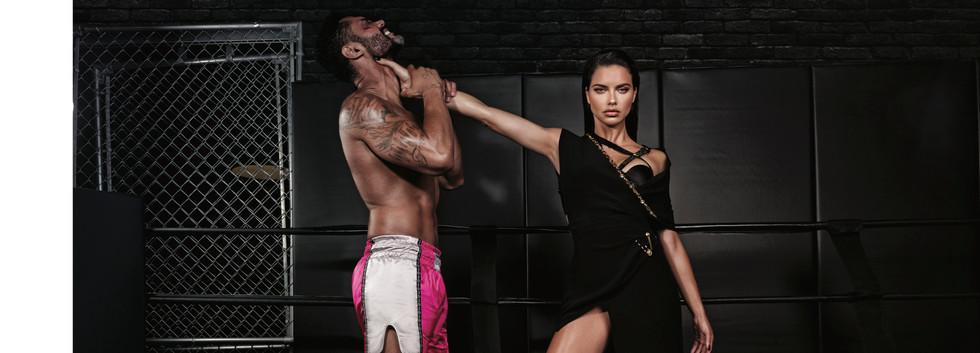 Photo: George Livieratos  Art Director: Elena Borovitska Stylist: Arnold Milford Model: Adriana Lima / Elite Paris
