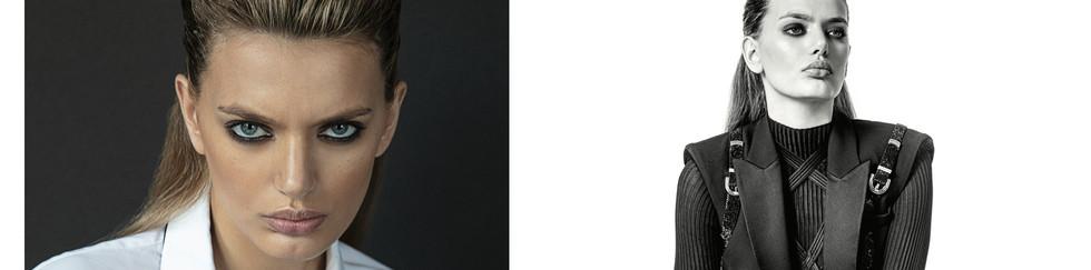 Photo&Casting: ENIKO  Stylist: NEWHEART OHANIAN  Stylist's Assistant: DINNIAH BARTHOLOMEW   Make up: VICTOR NOBLE USING MAC COSMETICS  Hair: KIYO IGARASHI @ MAM-NYC USING ORIBE   Model: BREGJE HEINEN @ ELITE NYC  Producer: NALIME TOURÉ  Video: GRANT FRIEDMAN  Location: BLONDE STUDIOS, New-York