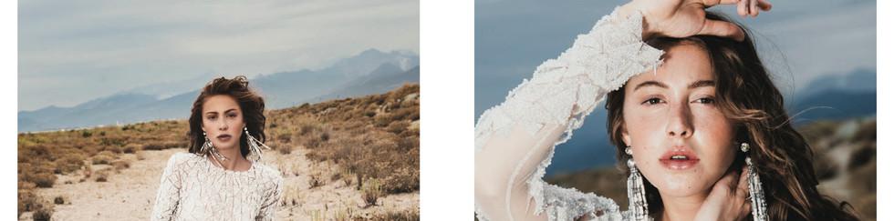 Photographer and creative director: Irina Lis Costanzo   Stylist: Erika Guerrisi   Make-up and hair: Daniela Decillo   Model: Johanna Chone