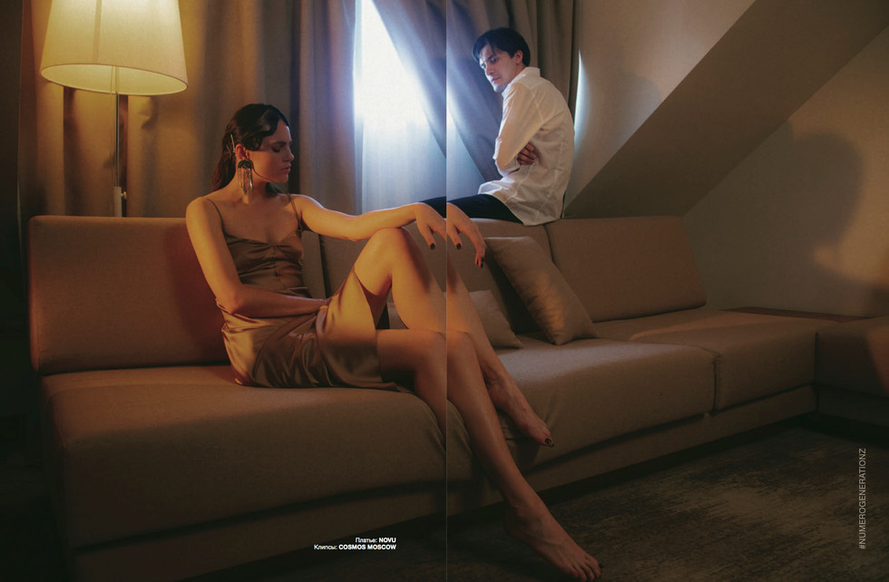 NUMERO RUSSIA 055 WOMEN EMPOWERMENT   Photograph: Polina Demello @polinademello   Stylist: Maria Lysenki @mashu1ka   Producer: Tatiana T @taniatgra  Model Agency: Timodels Agency @t_models_agency   Model: Anastasia Zaika @t_models_agency   Model: Aynur Nizamutdinov @t_models_agency   Stylist's assistant: Evgeniya Gorshkova @detka_ciao   Make-up: Soon Arzumanian @l_sonya_l   Lightning: Alena Martinyuk @alena.martinyuk   Lightning assistant: Aleksey Igoshev @kilowatt.msc