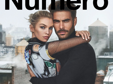 #NUMERORUSSIADIGITALFASHION 015 Stella Maxwell and Jon Kortajarena by Ilaria Niccolini