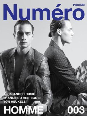 #NUMERORUSSIADIGITALHOMME 003Aleksander Rusic & Francisco Henriques by Alan Gelati
