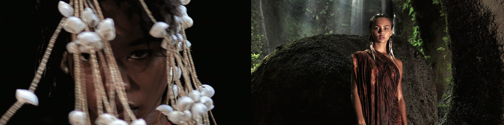 PHOTO: ÄMR EZZELDINN   STYLIST: BOSAINA   PRODUCTION: ANIMALWALL  MAKEUP: DIANA HARBY  MODELS: DAYANA REEVES @URBAN MODELS AND ALICE DEREN @BALISTARZ   STYLIST'S ASSISTANT: NADA KHEDR  PHOTOGRAPHER'S ASSISTANT: ISTIANTOMO   CINEMATOGRAPHY: MUHAMMAD GAMAL ELDIN   RETOUCH: ANNA KIRKOVA  TRAVEL LOGISTICS: TRAVAGANZA