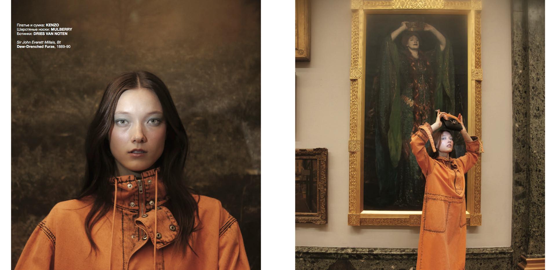 NUMERO RUSSIA 055 WOMEN EMPOWERMENT   PHOTO AND CREATIVE DIRECTOR: WANDA MARTIN  STYLIST: NATALIA PAKU SUKUDA  MAKE UP: KENTARO KONDO  USING SUQQU  HAIR: MIKE O'GORMAN USING WELLA PROFESSIONALS  PHOTOGRAPHER'S ASSISTANT: PANNA DONKA  STYLIST'S ASSISTANT: KATHERINE LO