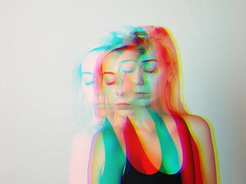'Colour' Print (004)