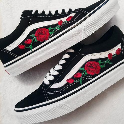 Rose Vans Chaussures Chaussures Old Skool Vans Old kwOP0n
