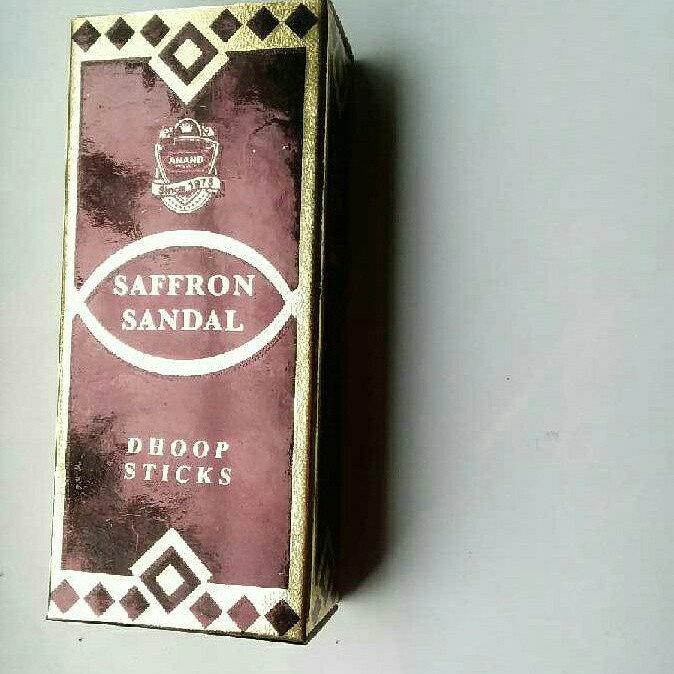 Saffron Sandal Dhoop Sticks Incense