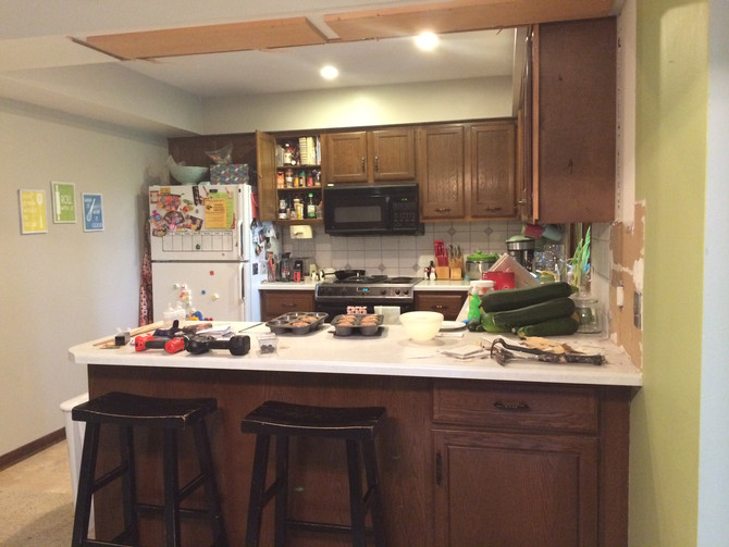 Kitchen Remodel {My Nightmare soon to be my dream}