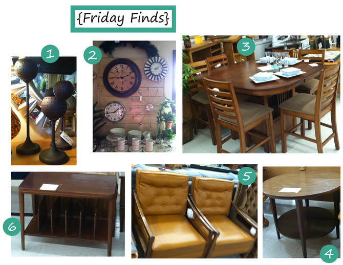 {Friday Finds}