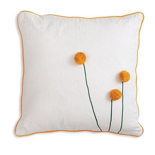 Billy Ball Cotton Throw Pillow