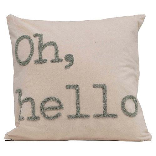 Oh, Hello Throw Pillow