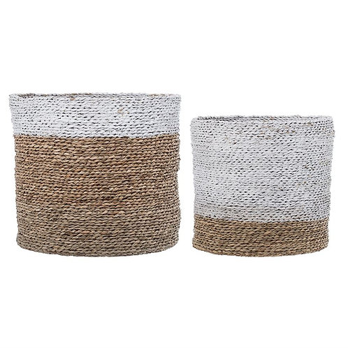 Natural Seagrass Basket - SMALL