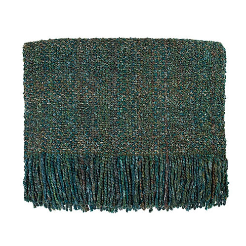 Campbell Throw Blanket - Tidal