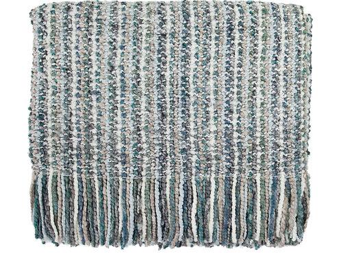 Stria Throw Blanket - Frost