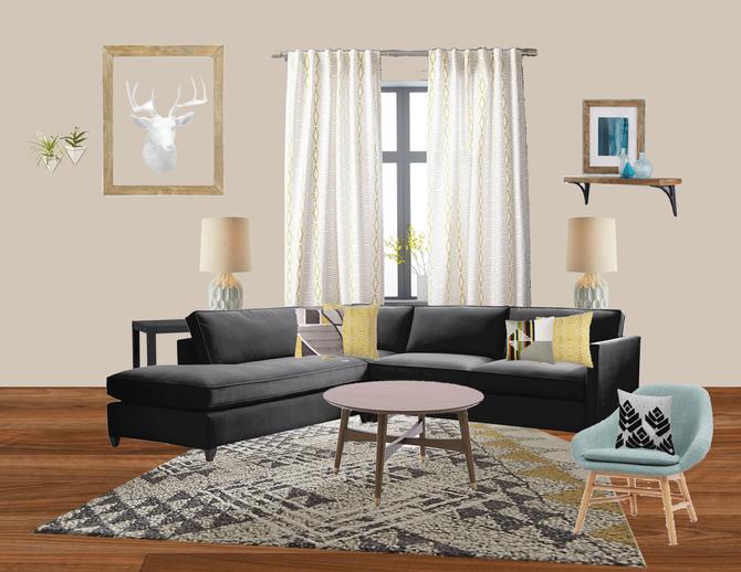 Neutral Serene Living Room