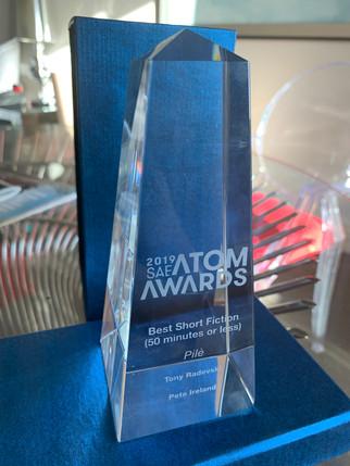 PILÈ wins Best Short Fiction Film at the 2019 ATOM Awards