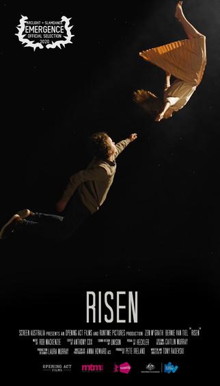 RISEN selected for Slamdance / Arclight Cinemas showcase