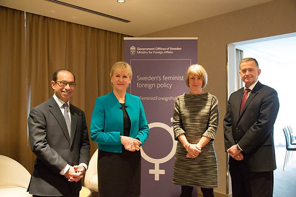 A conversation with Margot Wallström, Swedish Foreign Minister: Women, Peace and Security