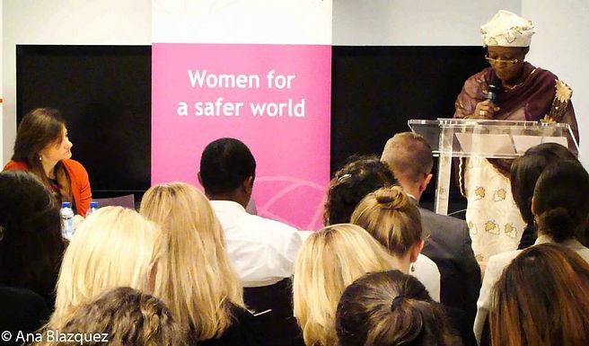 Debate on Sexual Violence in Conflict with UN SRSG Zainab Hawa Bangura