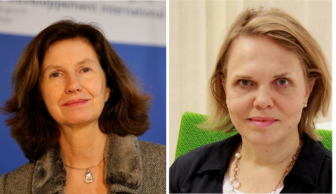 Policy Debate on hybrid threats with Ambassadors Duchêne and From-Emmesberger