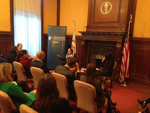 Conversation with Virginia Murray, Minister Counselor for Political Affairs at the U.S. Mission to the EU