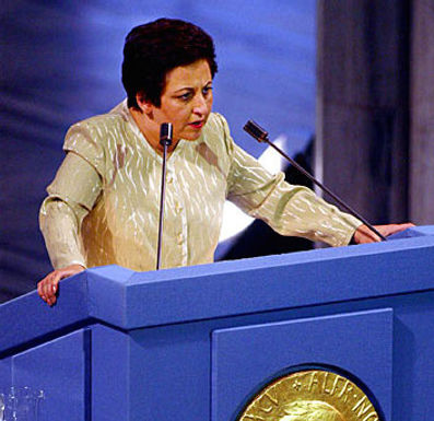 Briefing with Shirin Ebadi, 2003 Nobel Peace Prize Laureate and founder of the Centre for Supporters of Human Rights