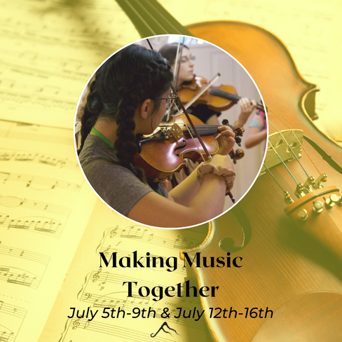 Activities include rhythm, art, food art, and drama classes in addition to lessons on either guitar, ukulele, drums, violin, viola, cello, or voice.