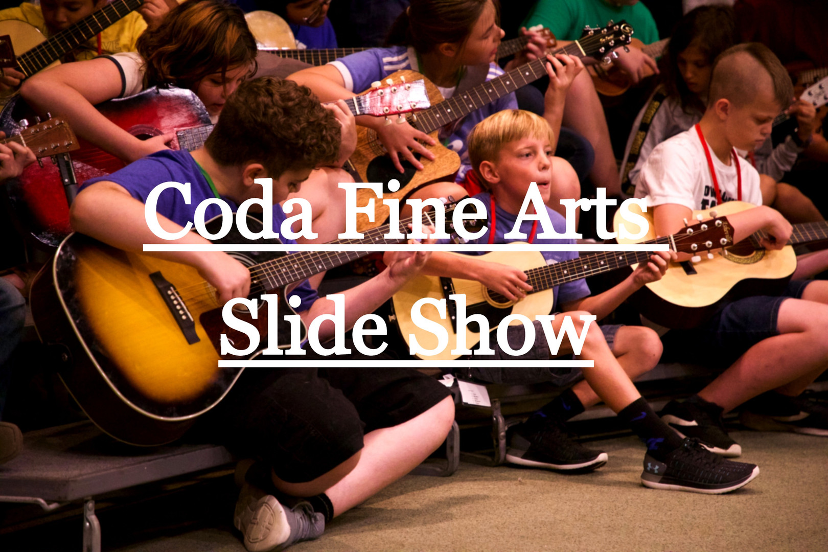 Coda Fine Arts Slide Show