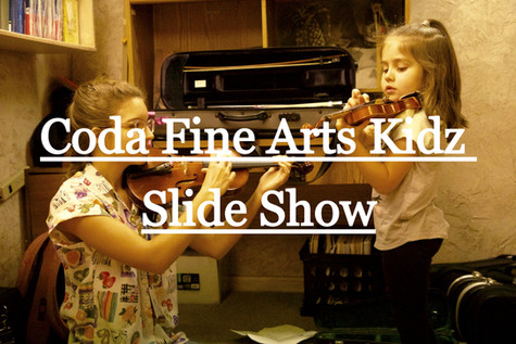 Coda Fine Arts Kidz Slide Show