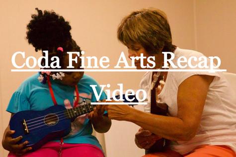 Coda Fine Arts Recap Video