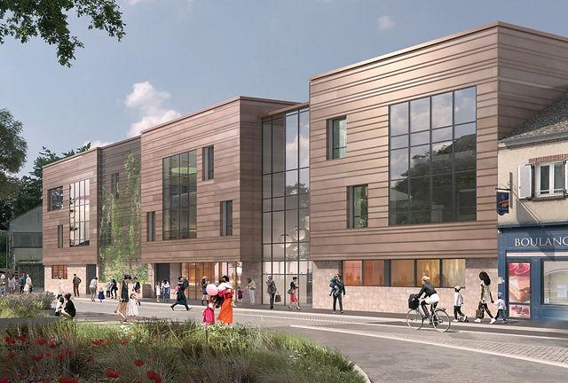 YDA, Architecte Chartres, construction école maternelle et primaire