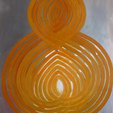 einlína/ oneline oriental yellow