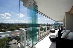 sacada deslizante, cortina de vidro, vidracaria goiania