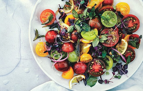 Trio Tomato & Mint Salad