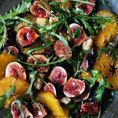 Roasted Fig and Orange Salads