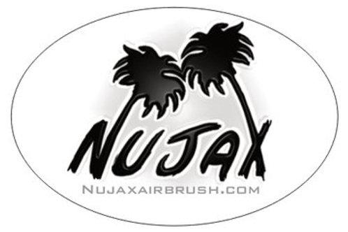 Nujax 3'' Sticker