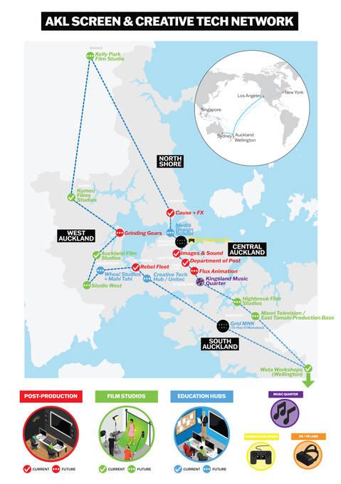 AKL Screen & Creative Tech Map 2020