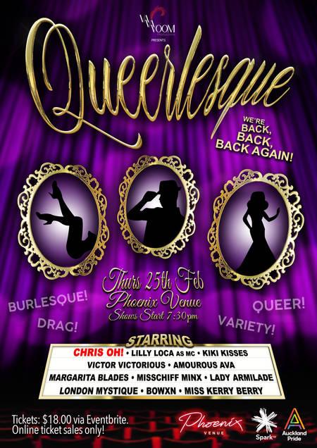 Queerlesque Poster Feb 2021