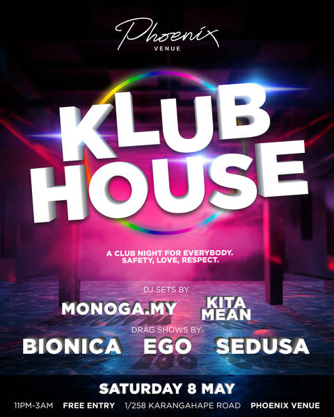 Klubhouse Poster May 2021