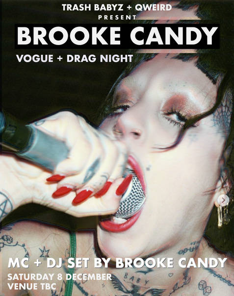 Brooke Candy Poster 2018