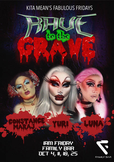 Rave To The Grave October 2019