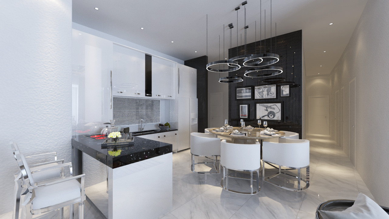 Condominium Kitchen & Dining