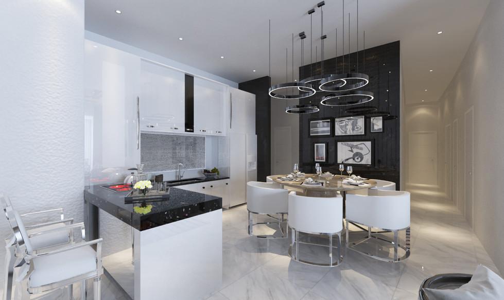 Condominium Kitchen & Dining