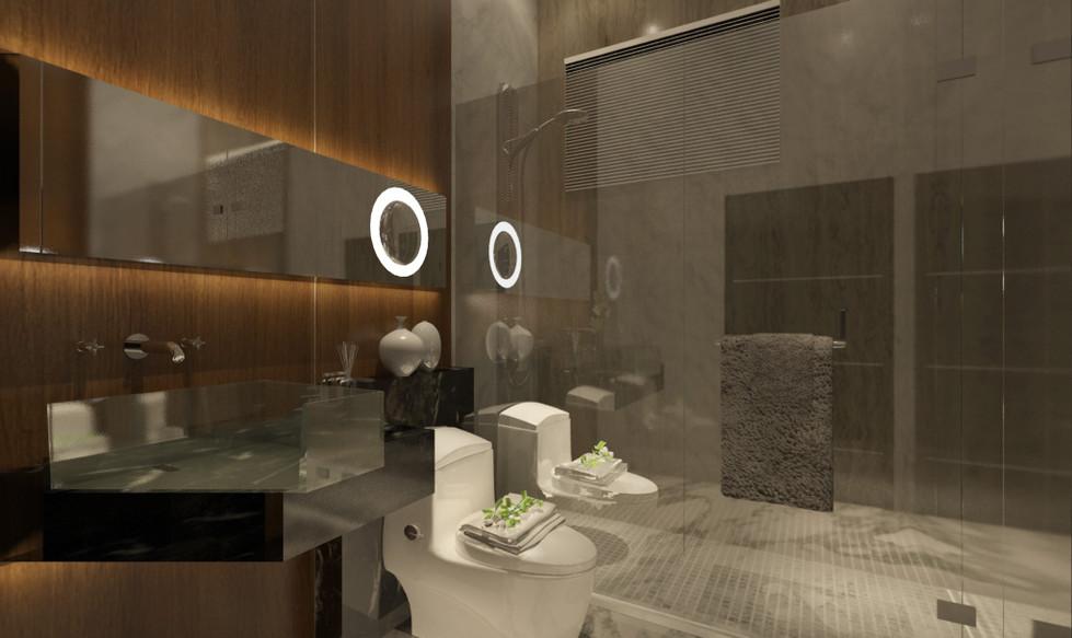 Condominium Master Bath