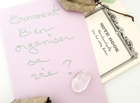 Comment organiser votre vie ? How to organize your life?